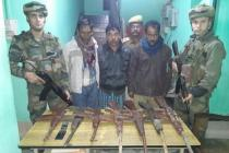 3 MULTA militants nabbed in Assam in a joint operation by security forces