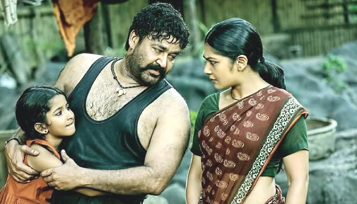 Mohanlal in a s till from Pulimurugan