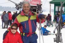 "Watch: 64-year-old Kashmiri man skiing on 90s hit ""It's MyLife"""