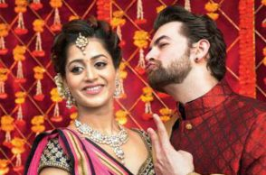 Neil Nitin Mukesh with his fiancee Rukmini Sahay