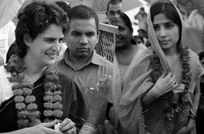 Priyanka Gandhi and Dimple Yadav