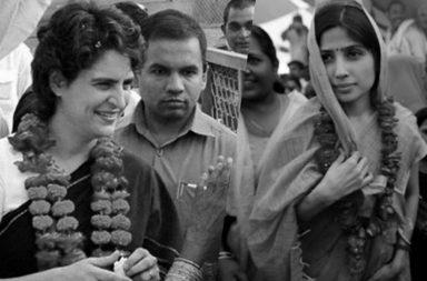 Priyanka Gandhi and Dimple Yadav