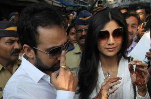 Shilpa Shetty along with Raj Kundra