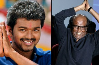 Rajinikanth IANS photo actor Vijay file photo for InUth dot com