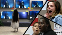 Rings movie's hilarious (& Scary) prank goes viral !