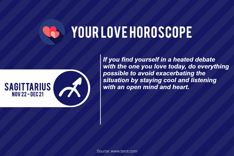 sagittarius love horoscope january 10