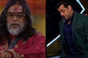 Swami Om and Salman Khan (Courtesy: Twitter/ Bigg Boss)