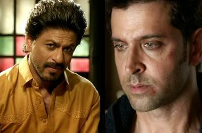 Shah Rukh Khan Hrithik Roshan YouTube screen grab raees and Kaabil for InUth.com