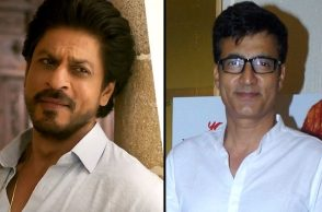 Shah Rukh Khan Narendra Jha IANS photo