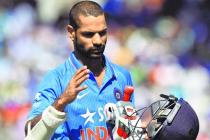 Shikhar Dhawan in hospital before third ODI against England