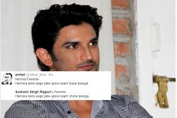 Sushant Singh Rajput trolled for dropping Rajput from hisname!