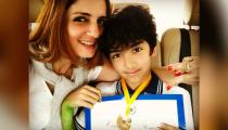Hridhaan is a 'Kaabil' beta, makes Hrithik Roshan and Sussanne Khan proud parents