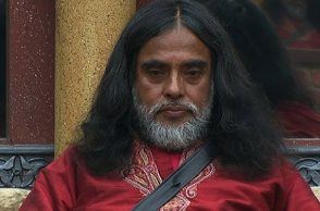 Swami Om in Bigg Boss house (Courtesy: Twitter/Bigg Boss)