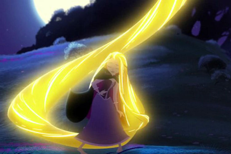 Rapunzel Gets Her Long Hair Back In Tangled Before Ever