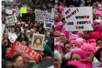 'Women's right not up for grabs,' millions stage protest against Donald Trump