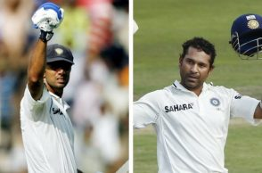 Rahul Dravid and Sachin Tendulkar have been involved in 20 plus century stands in Tests. (Photo: Reuters)