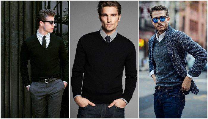 V-Neck Sweaters(Photo:Instagram& Facebook)