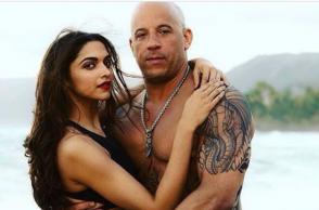 Vin Diesel and Deepika Padukone (Courtesy: Instagram/ Deepika Padukone)