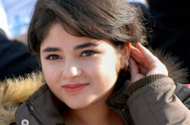Dangal actress Zaira Wasim participating in 'Big Jammu Run- For Save Water' marathon (Photo: PTI)