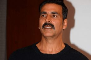 Mumbai: Actor Akshay Kumar during the launch of book Deedara Aka Dara Singh by author Seema Sonik Alimchand in Mumbai on Dec 10, 2016. (Photo: IANS)