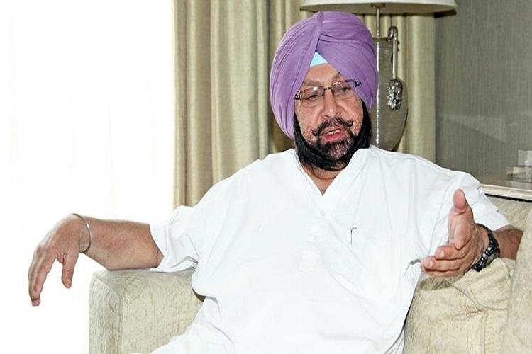 If comes to power, I will break the drug nexus in Punjab: Amarinder Singh