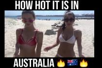 Girls crack open an egg in Australia and something bizarrehappens!