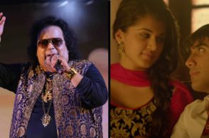 Bappi Lahiri (Courtesy: IANS) and a still from Pyar Ka Test (Courtesy: YouTube/TimesMusic)