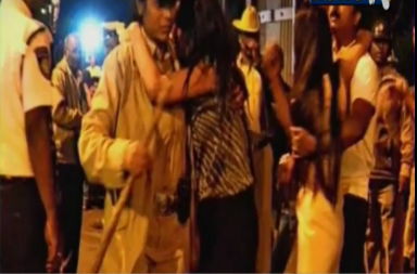 Bengaluru Molestation VideoScreenshot/Youtube