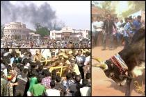 Jallikattu protest turns violent, protesters burn police station, cops resort to use force