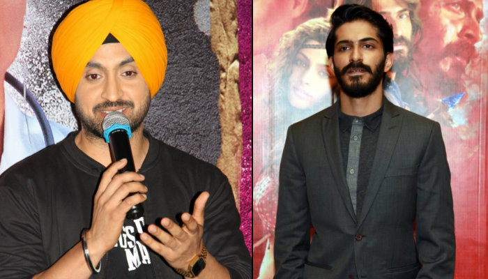 Diljit Dosanjh and Harshvardhan Kapoor (Courtesy: IANS)