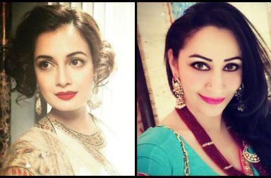 Diya Mirza, Manyata Dutt (Courtesy: Instagram)