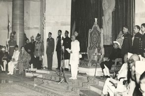 Republic Day celebration on January 26, 1950