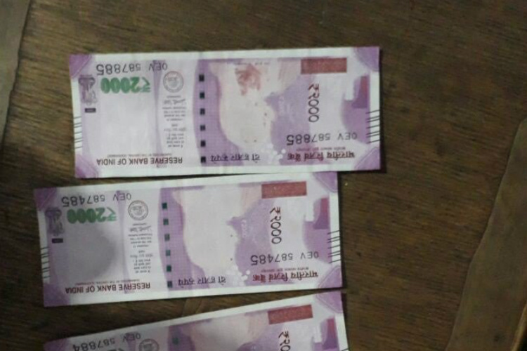 SBI issues Rs 2000 without Gandhi's image