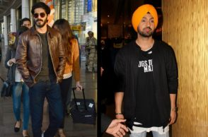 Harshvardhan Kapoor and Diljit Dosanjh (Courtesy: IANS)
