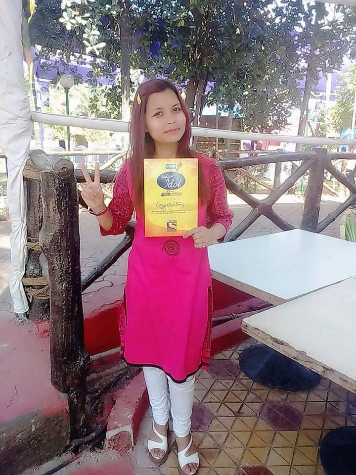 Indian Idol contestant Rani Sharma