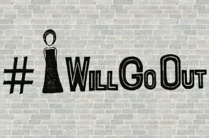 IWillGoOut Campaign Poster