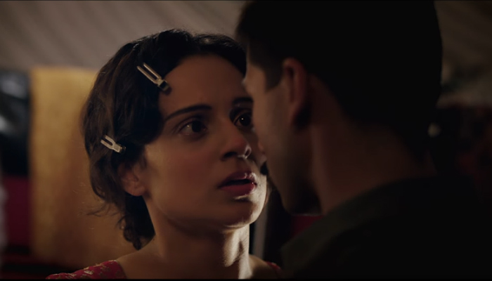 Kangana Ranaut in a still from Rangoon (Courtesy: YouTube: T-Series)