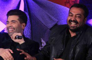Karan Johar and Anurag Kashyap