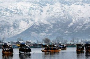 Snow-clad Mountains of Kashmir