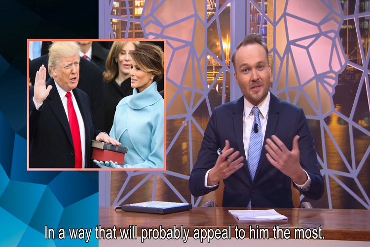 The Dutch Welcome Trump With the Greatest, Most Amazing Video Ever