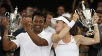 What makes Martina Hingis the lucky mascot for Indian tennis