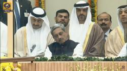 We're all guilty of having dozed off at events, so please leave Manohar Parrikar alonenow