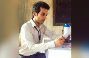 Rajkummar Rao in a still from Newton. (Courtesy: Twitter/Rajkummar Rao)