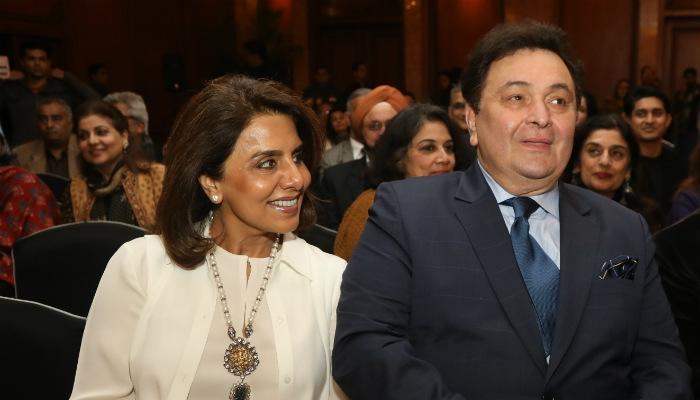 Rishi Kapoor and Neetu Kapoor (Courtesy: IANS)