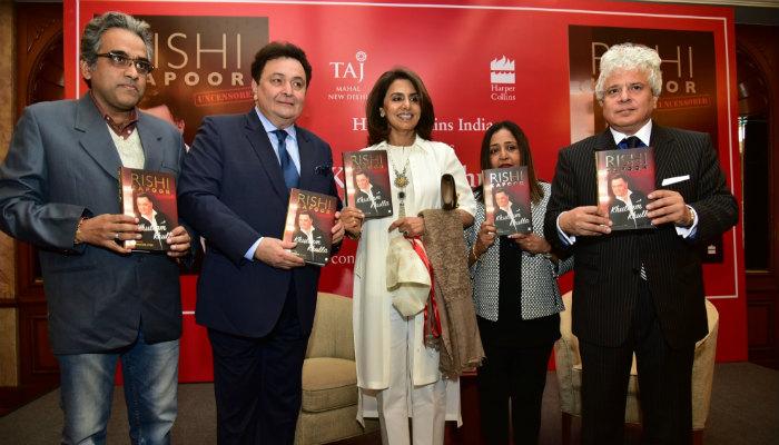 Rishi Kapoor's book launch (Courtesy: IANS)