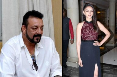 Sanjay Dutt and Aditi Rao Hydari (Courtesy: IANS)