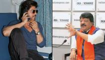 BJP's Kailash Vijayvargiya just compared Shah Rukh Khan to India's most Wanted fugitive Dawood Ibrahim