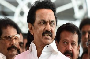 DMK working president, M.K Stalin.