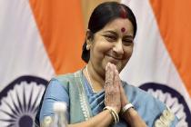 Sushma Swaraj shuts down the allegation of issuing visas only to Muslims with an EPIC response