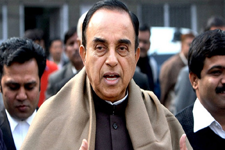 Arnab Goswami's news channel 'Republic' breaches Emblems act, Subramanian Swamy complains toI&B
